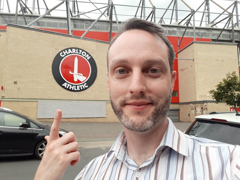 Level Playing Field Development Officer Daniel Townley visits Charlton Athletic Football Club.
