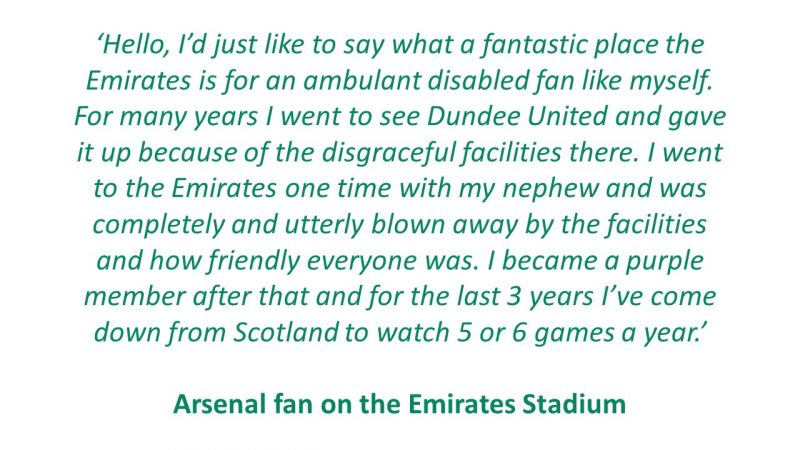Fans Comments - Arsenal