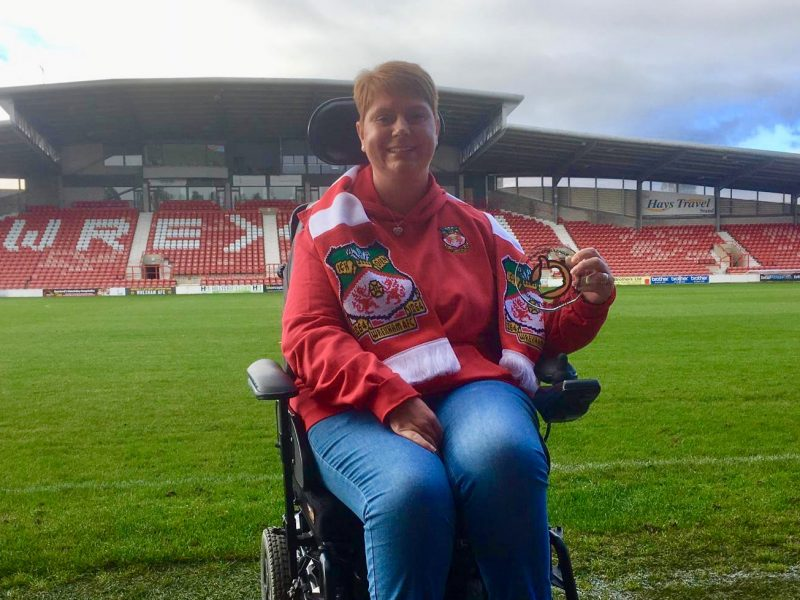 Kerry Evans - Wrexham AFC Disability Officer